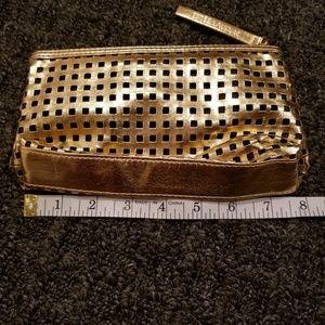 Gold Estee Lauder Makeup Case